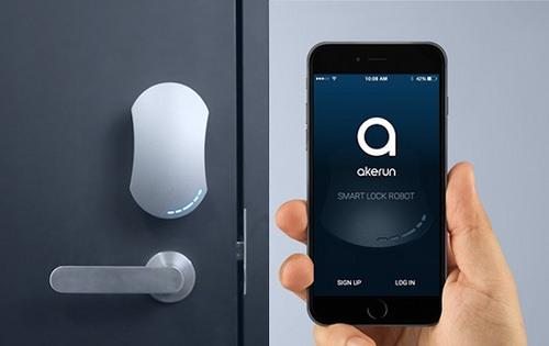 Airbnb オートロック akerun